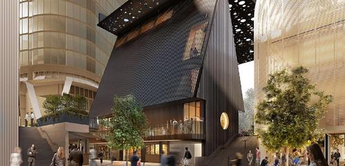 Aboriginal artist adjoins with Adjaye Associates to design Australia's new Sydney Plaza
